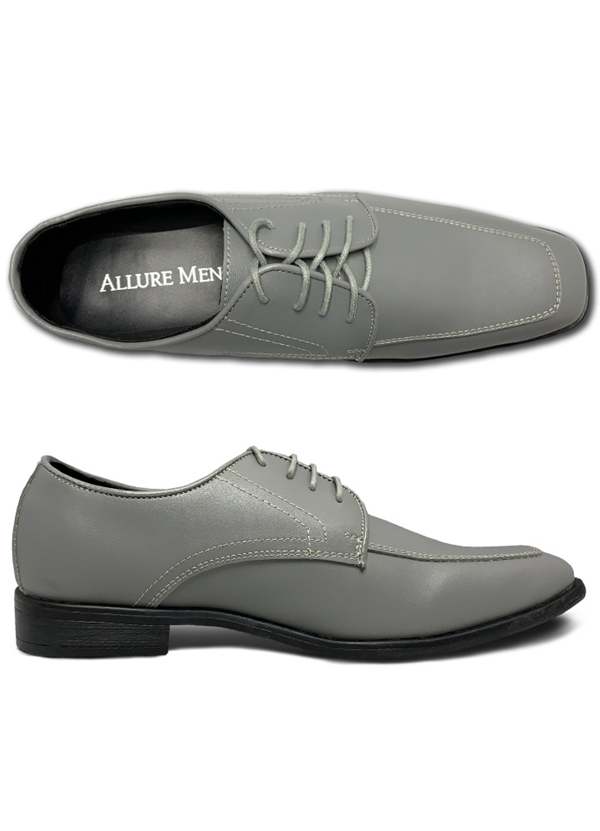 NEW Cement Grey 'Bravo' Lace-up Shoes