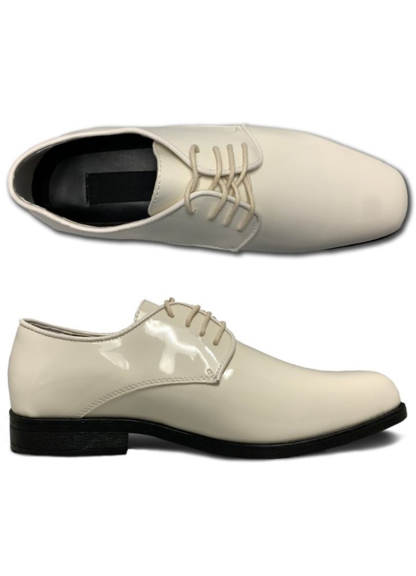 NEW Ivory 'Bravo'  Tux 1 Lace-up Shoes