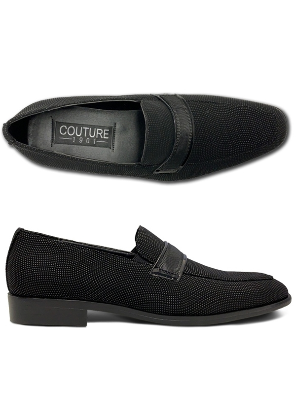 NEW Black Alistair Slip-On Shoe by Coutour 1910