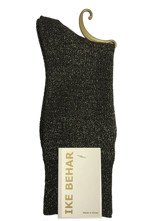 NEW Gold Sparkle Sock by Ike Behar