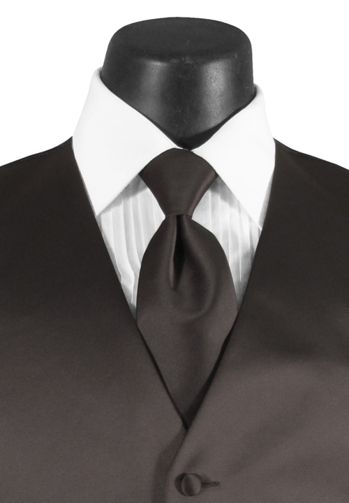 Charcoal Grey 'Madison' Long Tie