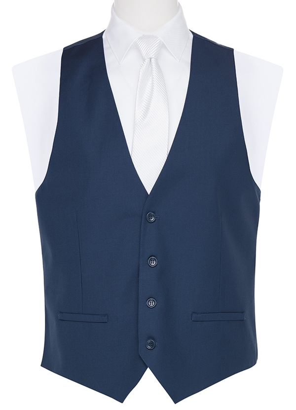 NEW French Blue Vest By David Major