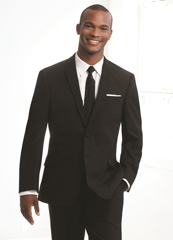 Black' Asbury' Suit Coat