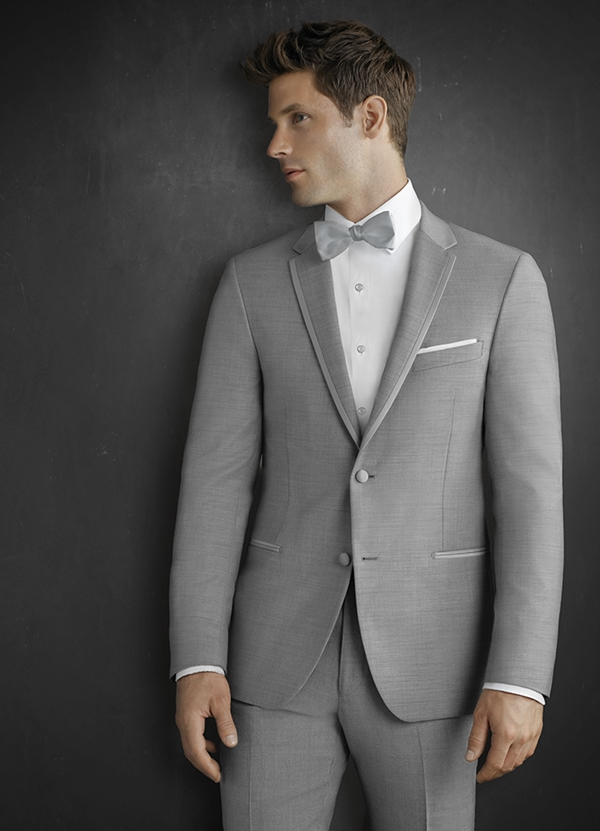 "Heather Grey ""Lenox"" Tuxedo"