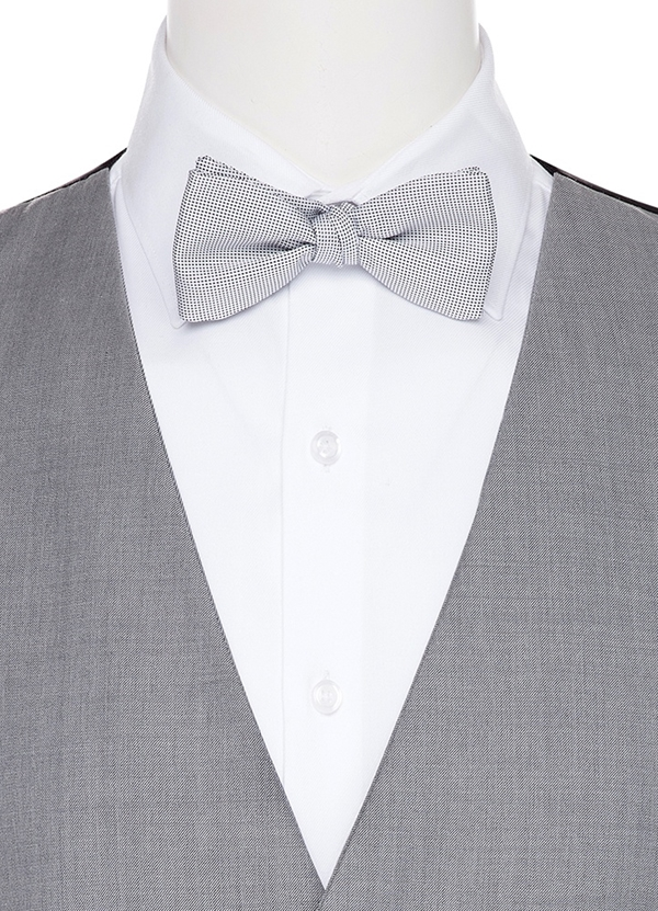 Heather Grey Coordinating Bow tie