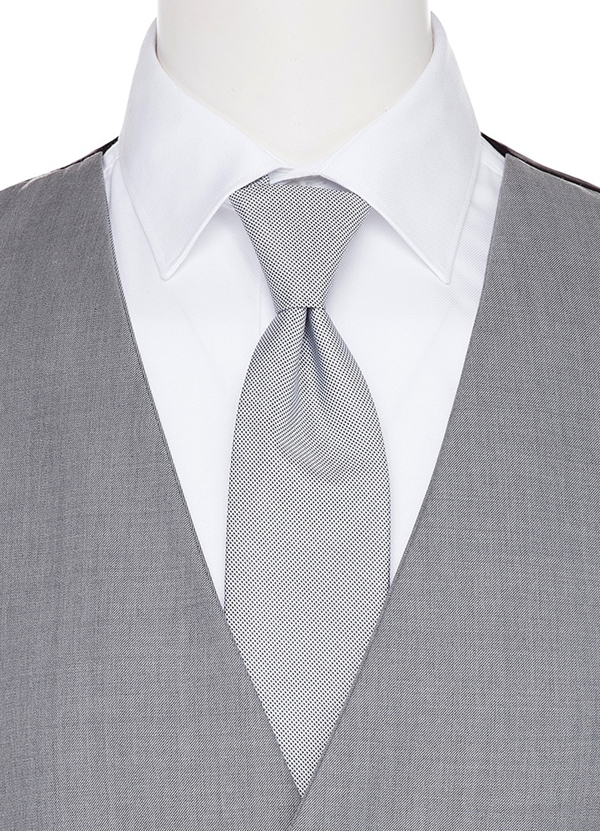 Heather Grey Coodinating Long Tie