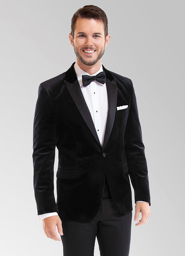 Black Velvet 'Luxor' Dinner Jacket