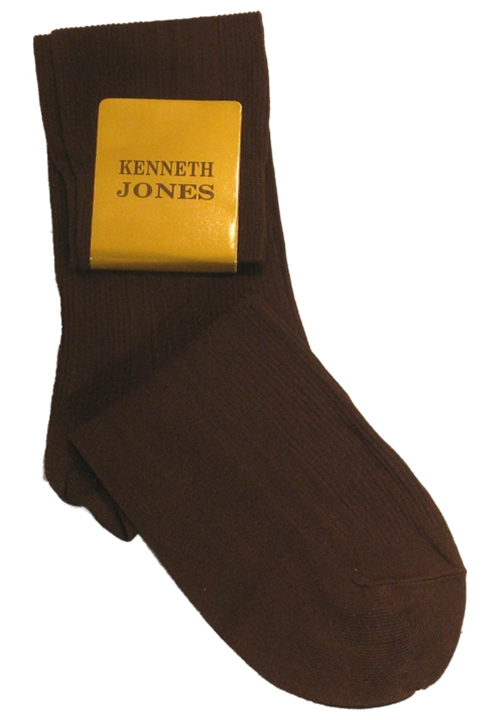 Classic Collection Brown Dress Socks