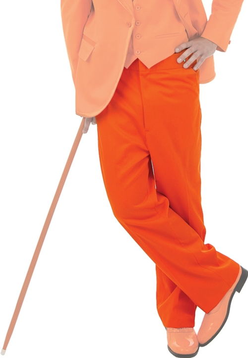 NEW BCT Orange Flat Front Trousers