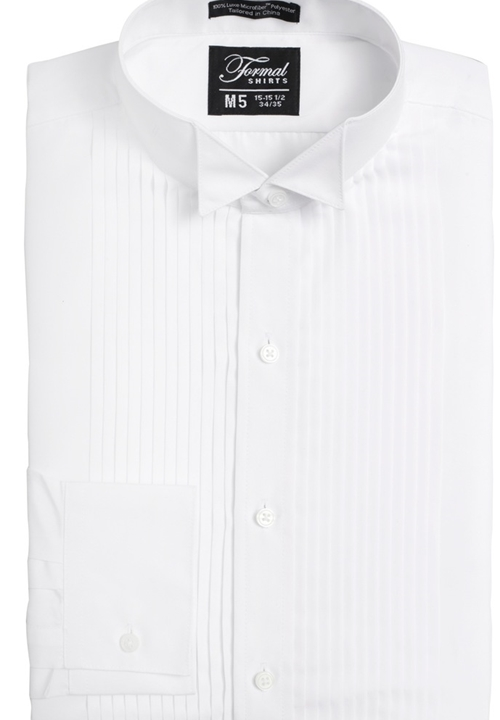 Classic Collection 'Nick' White Turn Down Collar Shirt