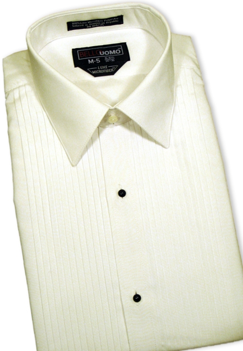 Classic Collection 'Mark' Ivory Turn Down Collar Shirt